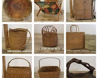 Burlington Farmhouse basketscollage