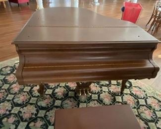 Kranich & Bach grand piano (Circa 1864)