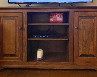 "Tv console 55"" long x 17"" wide x 31 1/2""  high $250"