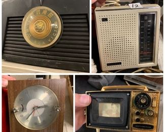 Vintage radios etc.