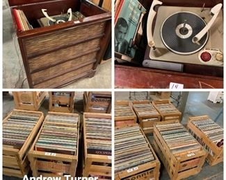 Record albums, LP's Stereo etc.