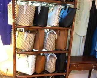 New leather designer handbags from Nordstrom