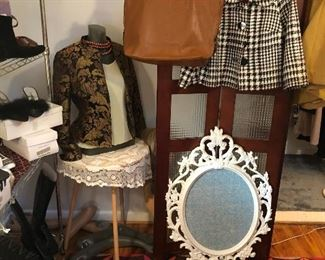 Shoes, Clothes and designer Leather Handbags