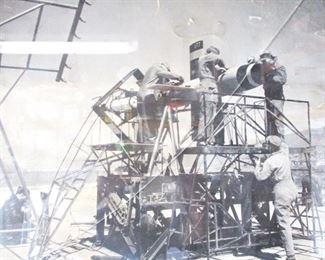 Photo of Owner & AF Team at White  Sands Testing Range  circa 1950 s