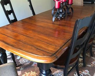 Thick thighed table