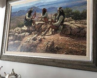 Large Mark Martensen painting  12k