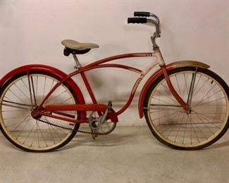 $400.00.............Vintage Schwinn Bicycle w/basket (next picture) (P616)