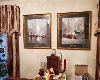 G. HARVEY PRINTS, Antique Cabinet