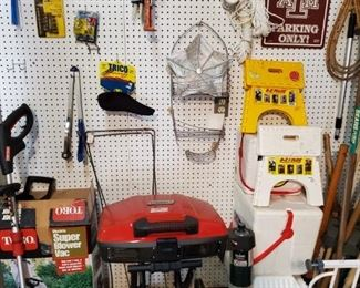MORE TOOLS, GRILL, MISC.