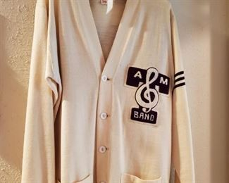 1970's TEXAS A&M  AGGIE BAND SWEATER