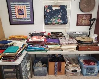 FABRICS & MORE SEWING ITEMS