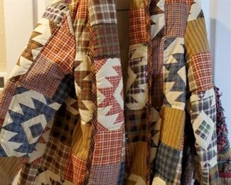 Handmade Quilt Jackets (MORE THAN ONE)