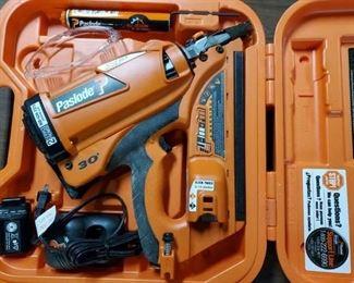 PASLODE Cordless XP Framing Nail Gun...Used very little & like new.  Model CF325XP