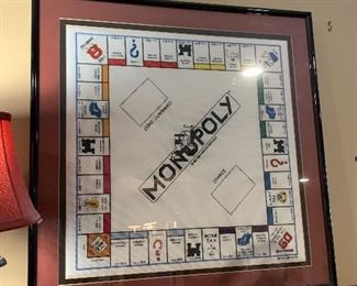 Amazing Monopoly Board Cross Stitch