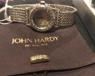 Ladies vintage Sterling Silver 1992 John Hardy watch  Appraisal is $2250