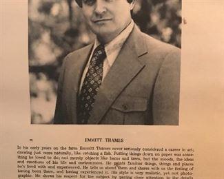 Emmett Thames biography