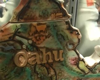 Fabulous Hawaiian decanter