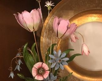 More Faberge enameled flowers
