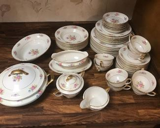 1940's Jackson Co. American porcelain service for 8 in wonderful vintage condition