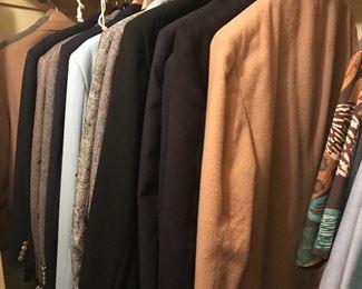 Gentlemen's jackets and slacks