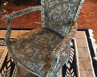 Custom French  chair