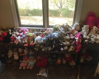 More stuffed animals from all over the world