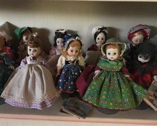 Vintage Madam Alexander dolls