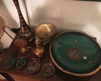 Vintage Judaical Brass pieces from Israel