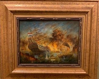 Dutch painter HELAMINE 1880-1910