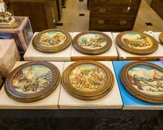 Anri wooden plates