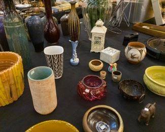 Pottery and vases