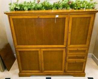 Entertainment Center!  Can also be used as a sideboard, and matches our formal dining set.