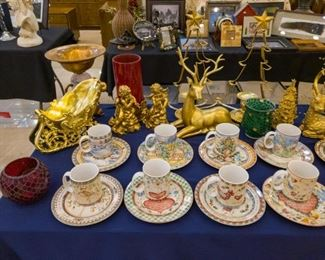 12 Days of Christmas Plates & Cups
