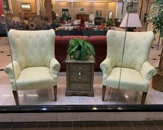 2 matching chairs - love the table too!
