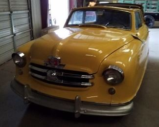 1951 Nash Rambler 2 door convertible  mileage 55877