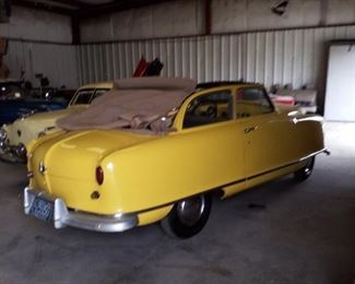 1951 Nash Ramnler 2 door convertible
