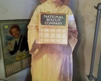 National Biscuit Company cardboard cutout