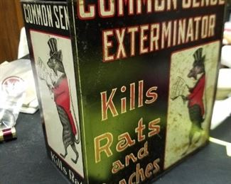 Common Sense Exterminator, very scarce!!