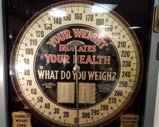 Your weight indicates your health scale