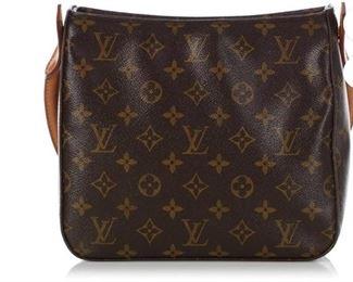 Authentic Vintage Louis Vuitton Classic Monogram Looping MM Shoulder Bag