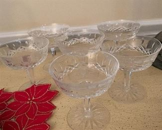 Waterford Lismore parfait glasses-6