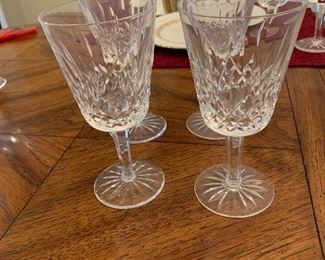 Waterford Lismore wine glasses -12