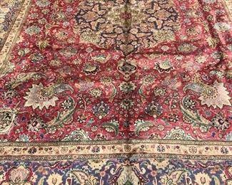 6R 99x1210 Antique Persian Tabriz