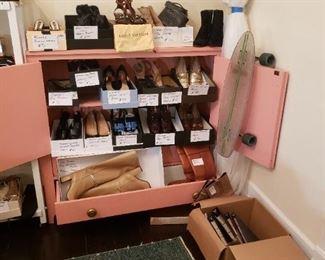 Women's Designer shoes, Prada, Chanel, Gucci, etc.