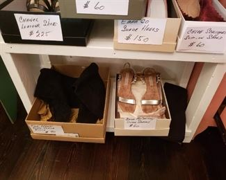 Women's designer shoes, size 8
