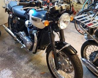2017 Triumph Bonneville motorcycle