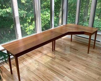 Lot 57   BESPOKE CHERRY WORK TABLE