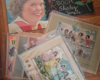 Vintage Ephemera..Shirley Temple....+
