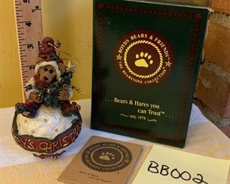 (Photo 1 of 2) Boyds Bears Baby's Christmas Dated 1998 Snowball Ornament  $10