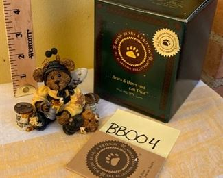 (Photo 1 of 2) Boyds Bearstones 1993 Bumble B. Bee... Sweeter Than Honey $15